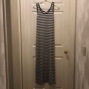Zenana striped maxi dress